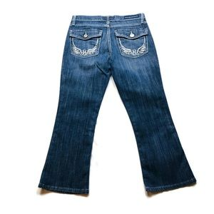 Rock and Republic Cropped Jeans Sz 6